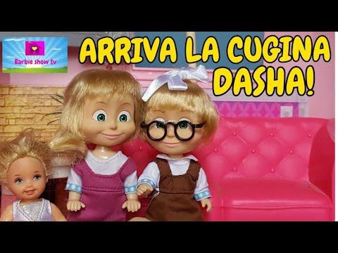 Le avventure di MASHA: EP.36 ARRIVA LA CUGINA DASHA!