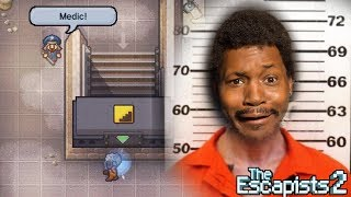 YA BOY IS BREAKING OUT OF PRISON.. THIS FINNA BE A BREEZE..not | The Escapists 2