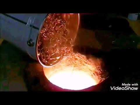 Proses Pembuatan Emas Batangan Asli Emas Batangan Palsu Youtube