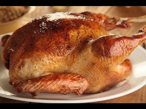 How To Cook A Turkey - Oven Roasted Turkey - Easy Thanksgiving Turkey Recipe - The Hillbilly Kitchen