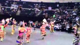 jr girls jingle manito ahbee 2011
