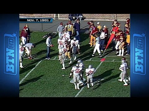 The Big Ten's Best Performances: 1981 - Minnesota's Mike Hohensee vs. Ohio State