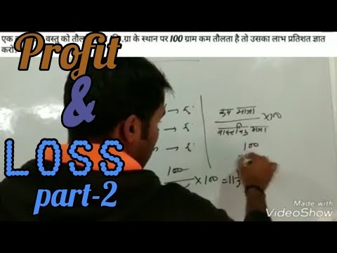 Profit & loss.(part-2)..by NR Badiwal