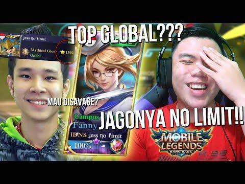 DIAJARIN JESS NO LIMIT CARA JADI TOP GLOBAL!?!? - Mobile Legends Indonesia #41