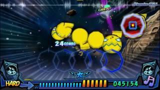 「Music GunGun! 2」 Invader GIRL! 【1P Hard Lv  18】