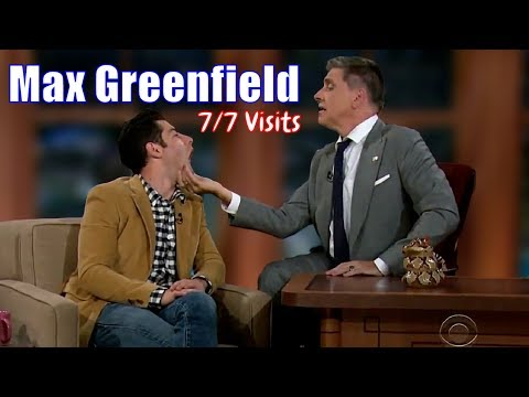 Max Greenfield  One Of Those Guests  77 Visits In Chronological Order