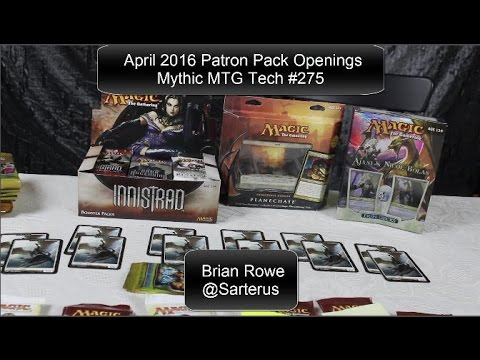 Patron Pack Openings & Announcements - Mythic MTG Tech #275