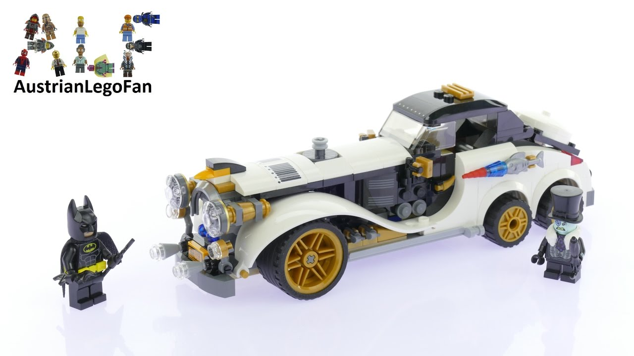 Lego Batman Movie 70911 The Penguin Arctic Roller Speed Build Youtube
