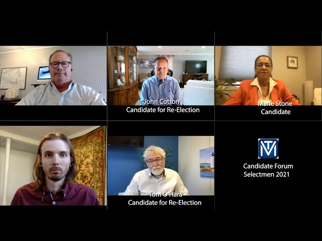 Candidate Forum Selectmen 2021