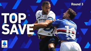 D'Ambrosio's AMAZING save on the line! | Sampdoria 2-2 Inter | Round 3