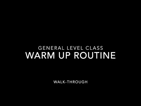 Learn to Tap Dance Warmup - Adult General Class