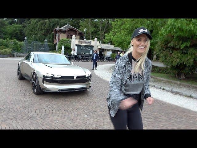 The Car With No Driver | ft. Peugeot E-Legend Concept