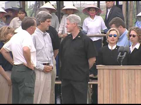 Pres. Clinton's Remarks to Full Accounting Excavation participants in Vietnam (2000)