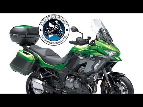 Apresentação e teste da Kawasaki versys 650 - YouTube