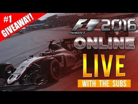 F1 2016 Online Gameplay LIVESTREAM Test - First Ever Races