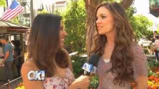 OK! TV - Interview with Witches of East End's Rachel Boston