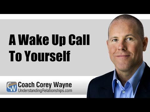 A Wake Up Call To Yourself