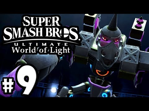 Super Smash Bros Ultimate - World of Light PART 9 - Galleom Boss Snake - Switch Gameplay Walkthrough thumbnail