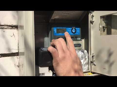Настройка пульта управления автоматического полива (часть 2)