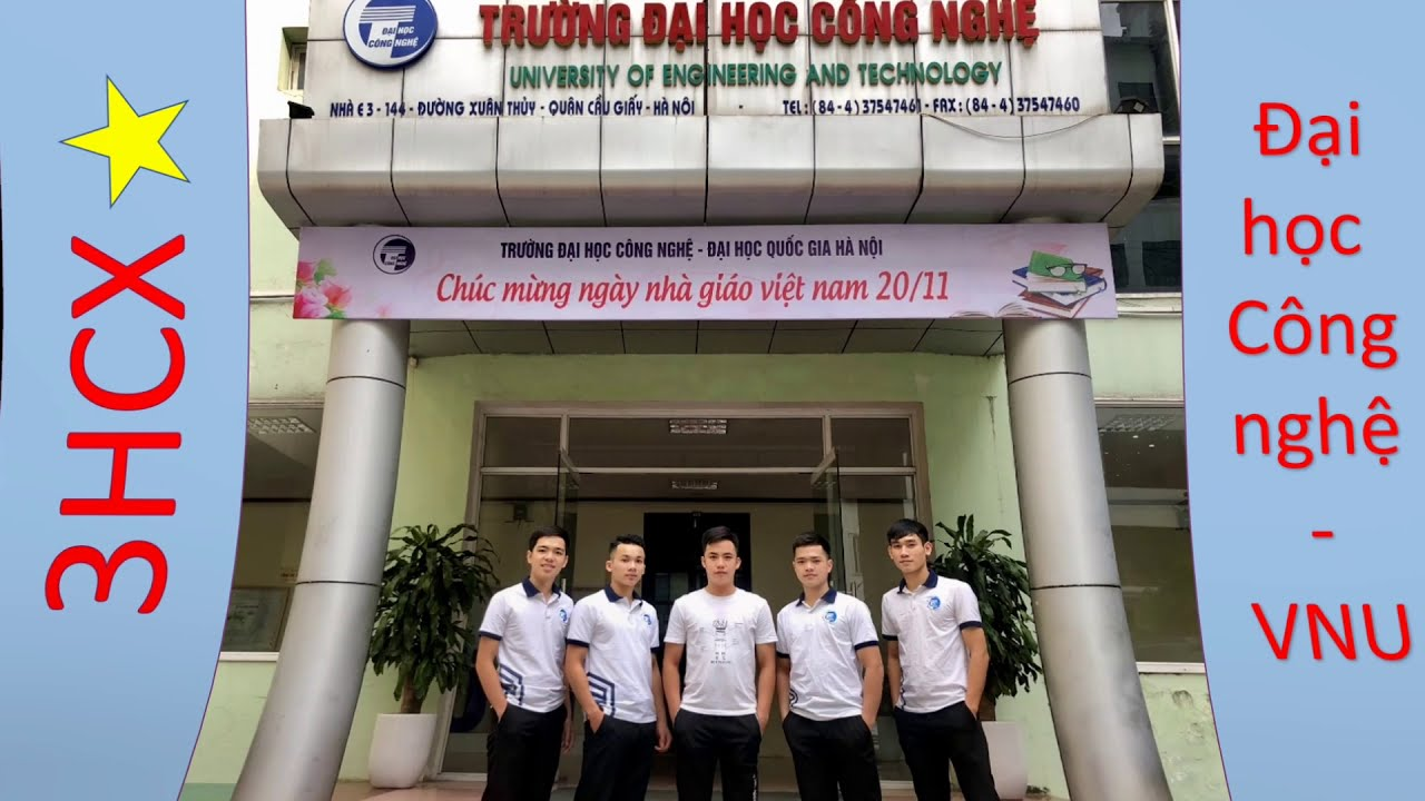 Đội 3HCX – trường ĐH Công nghệ, ĐHQG Hà Nội – Canon Chie Tech 2020