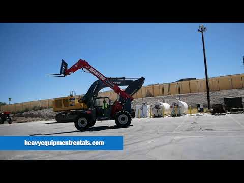 Manitou MTA 8044 Reach Forklift For Sale - $87,500