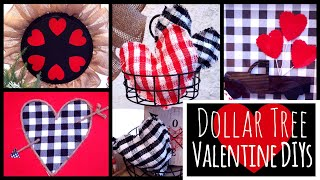 DOLLAR TREE VALENTINE DIYs!