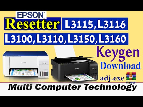 L3100 ,L3110 L405 Resetter Free Download