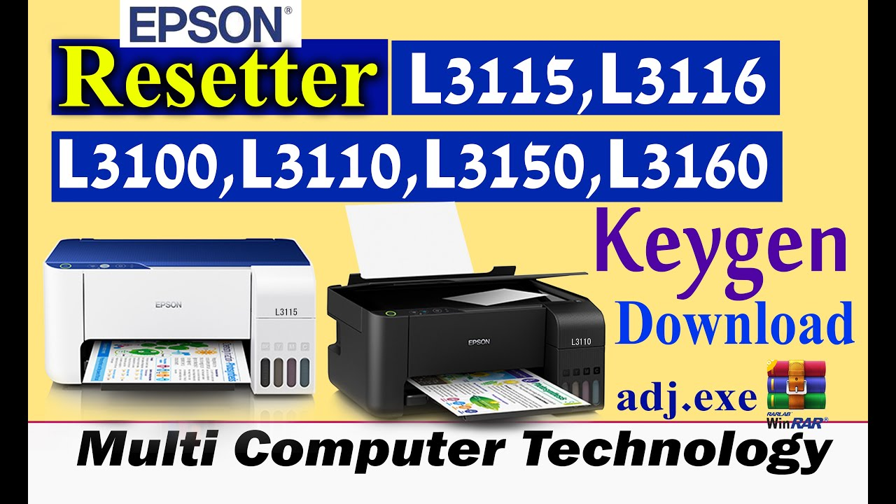 Resetter Epson L1300 Free Download Epson in 2019 Ecotank