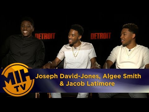Joseph David Jones, Algee Smith & Jacob Latimore Detroit Interview