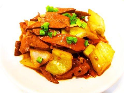 Китайская кухня. Брокколи с шампиньонами.из YouTube · Длительность: 4 мин51 с