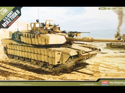 Box Review: Academy 1/35 M1A2 Abrams SEP v2/TUSK I/TUSK II