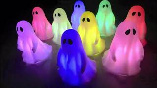 Color Changing Halloween Ghost Lights