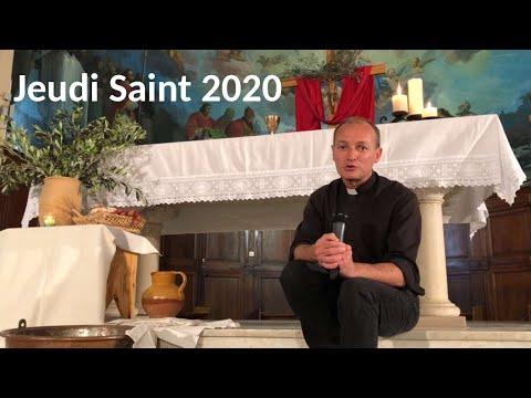 Jeudi Saint 2020 Depuis L'église De Bonneveine Confinée