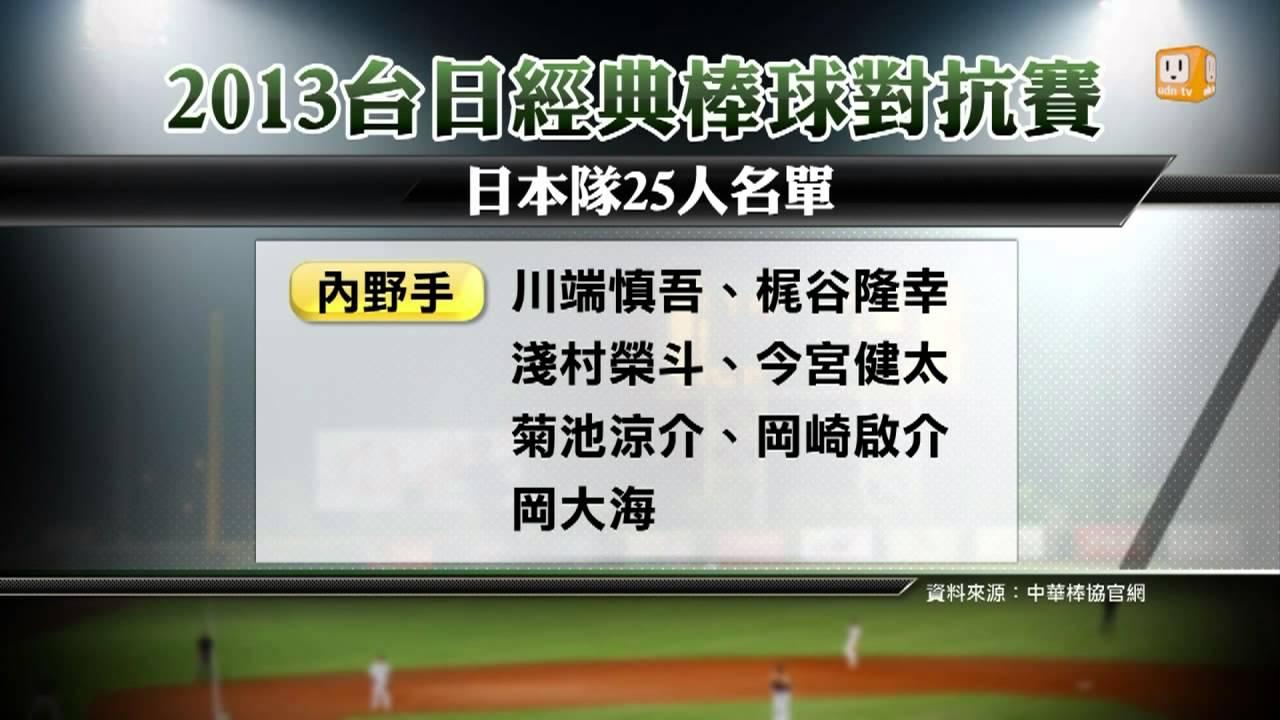 【2013.10.29】臺日棒球對抗賽 日本隊陣容堅強 -udn tv - YouTube