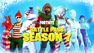 "FORTNITE SEASON 7 BATTLE PASS TRAILER! NEW ""FORTNITE SEASON 7 BATTLE PASS"" UNLOCKS! (SEASON 7 LEAKS)"