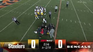 Ryan Shazier Carted off the Field After Gruesome Back Injury | Steelers vs Bengals Week 13
