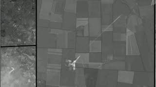 Сенсация! Малазийский самолет 2014 (MH17 Boeng 777) Сбил Украинский МиГ-29 (Фото со спутника)