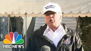 President Donald Trump Says He Has 'Absolute Right' To Declare National Emergency | NBC News