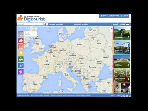 Digitourist, your fast and easy travel guide for Europe. Update 2016
