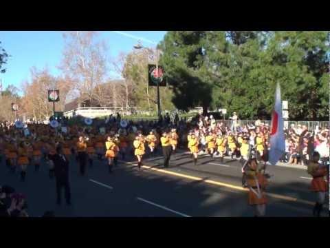 Kyoto Tachibana HS Band - 2012 Pasadena Rose Parade