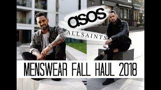 Menswear Fall Haul | ASOS Allsaints | Carl Thompson