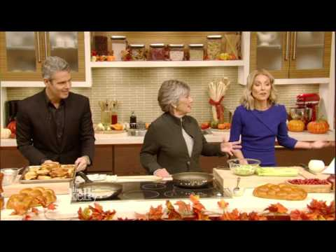 Andy Cohen's Mom Shares Challah Stuffing Recipe