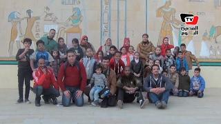 جولة «المصري كيدز» في القرية الفرعونية.. «توعية للأطفال»
