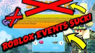 WHY ALL ROBLOX EVENTS SUCK!