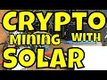 Solar Mining Rig  DC to DC crypto mining from my DIYPowerwall [2018]