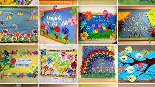 Bulletin Board Ideas For Spring#display#board#spring#season#bulletin#board