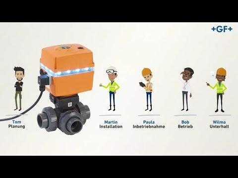 Smart Actuator: The Actuator That Connects With You - GF Piping Systems - English