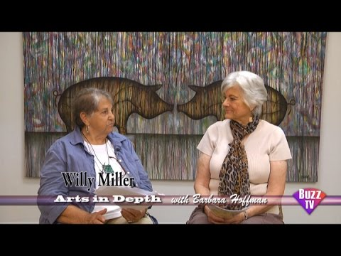 Arts in Depth hosted by Barbara Hoffman. Guest Willi Miller. The Voice of Arts
