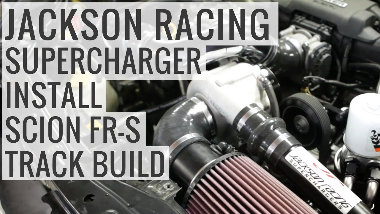 Jackson Racing Supercharger Install - Scion FR-S Track Build - EP04
