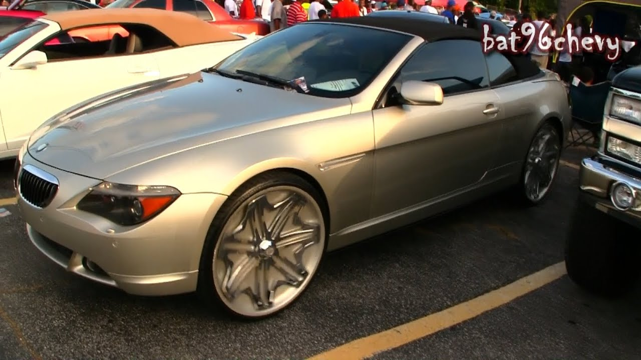 BMW Ci Convertible On Davin Pearl Floaters P HD YouTube - 2004 bmw 645 convertible for sale